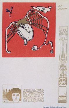 Koloman Moser. Ver Sacrum. 1898