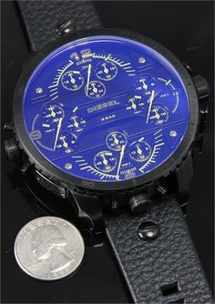 """Diesel DZ7262 Grand Daddy Watch....""""The Worlds Biggest Watch"""" {Limited Edition} ~ 66mm Wide! ~ $1500.00 ~ SOLD OUT......AAAWWW MAN!!"""