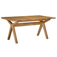 Buy Bethan Gray for John Lewis Noah Extending Dining Table, W160-205cm online at JohnLewis.com - John Lewis