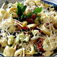 Tortellini Pasta Salad Backyard BBQ Side Dishes | Spoonful