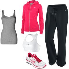 cute clothes to work out in- yes I'm in love with Nike , but most importantly nice little outfits you prefer will make it that much easier to throw them on and head to the gym. I always keep mine in separate drawers.