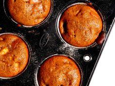Muffin de linhaça com maçã
