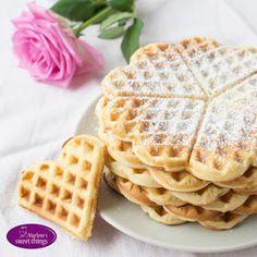 Marlene's sweet things: Vanillewaffeln