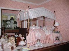 miniature girl's room