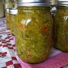 Sweet Zucchini Relish - Allrecipes.com