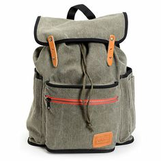 Keep your gear organized and your look basic without compromising your style in the Vans Chambers Forest Night backpack for girls. This rucksack style backpack comes in a Forest Night Grey Chambray colorway and features a large main compartment with a cinch tie closure, a front flap with faux leather straps that button for added security, a front pouch pocket with a contrasting red zipper and two side pockets for easy access with an exterior organizer pocket at the left pocket. With…