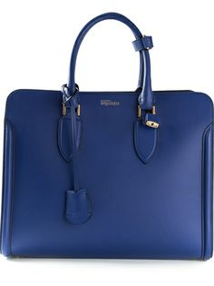 Alexander McQueen Padlock Tote Bag