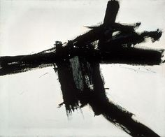 hydeordie:  Franz Kline, Buttress, 1956 This week's installment of MOCA's 30 Works for 30 Years series.