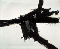 hydeordie:  Franz Kline, Buttress, 1956 This week's installment of MOCA's 30 Works for 30 Years series.