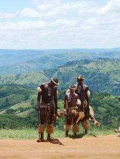 Zulu men, South Africa