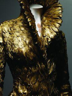 Alexander McQueen: Savage Beauty exhibition. Dress, autumn/winter 2010.