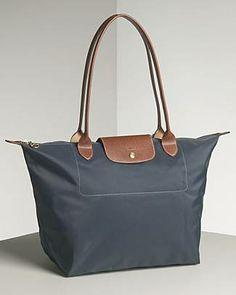 b79af0b009 #Longchamp Best Purses, Nylon Tote, Tote Handbags, Tote Bags, Longchamp,