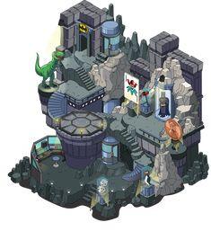 Batcave, why I love thee! by the Dork Batman Batcave, Lego Batman, Batman Logo, Disney Marvel, Marvel Dc, Batgirl Costume, Wayne Manor, Solar Generator, Lego Dc