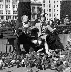 Things you'll never see again in San Francisco – SFGate Blog. Two giants:  Herb Caen and Hitchcock