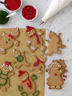 Gingerbread Family #Cookies