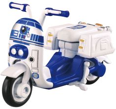 Takara Tomy Tomica Star Wars SC-05 Star Cars R2-D2 Scooter Diecast Toy F/S #Tomica