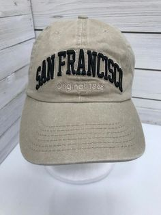 #BaseballCapsForSale Key: 5127539398 #BaseballHelmet San Francisco Baseball, Baseball Caps For Sale, Distressed Baseball Cap, Baseball Helmet, Hat Day, Strapback Hats, Pink Bling, Snapback Cap, Caps Hats