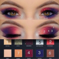 wich is your fave? 1 2 3 4 or . Goth Makeup, Makeup Inspo, Makeup Art, Makeup Inspiration, Creative Eye Makeup, Unique Makeup, Colorful Makeup, Huda Beauty Lip, Beauty Makeup