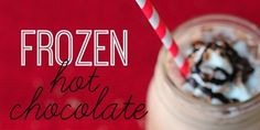 Frozen Hot-Chocolate