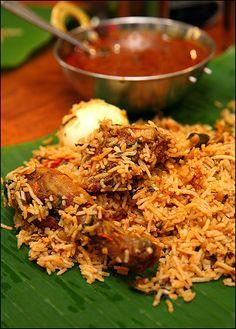 chicken biryani, the way mama makes