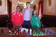 Martínez Alcázar reconoció el empeño de los deportistas que se han destacado a nivel nacional e internacional, por lo que, aseguró, el Gobierno Municipal continuará brindándoles las facilidades para su entrenamiento en las instalaciones municipales