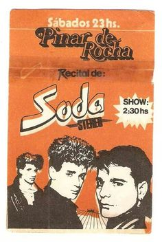 Soda Stereo, Cool Posters, Film Posters, Rock Music, My Music, Recital, 80s Aesthetic, Film Music Books, Classic Rock