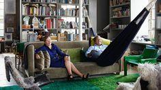 Studio of Ilse Crawford und Oscar Peña in London via www.zeit.de