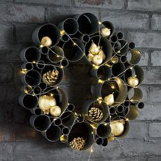 Make it merry with our ornaments, sprinkle line lights, or tealight smart candles as a festive centerpiece. Fun on the wall or tabletop…holiday time, or any time.