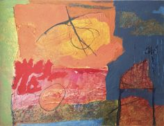 The mountain 2 (1989), acrylic on canvas.
