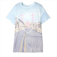 Pioneer Town Oversized T-Shirt - Wildfox