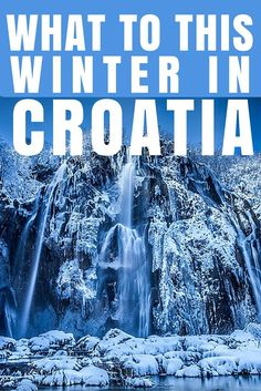 Things to do in Croatia in winter. Events, festivals, and thermal spa's are all on offer.