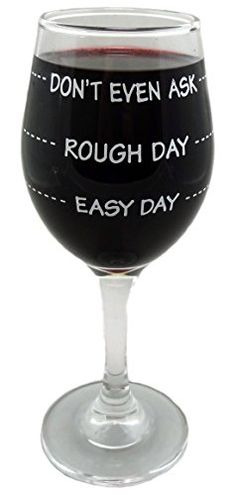 Funny Guy Mugs Don't Even Ask Measuring Wine Glass, 11-Ounce ** You can get additional details at the image link.