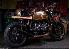 Custom Motorcycle BMW R65 Photos