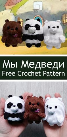 Mesmerizing Crochet an Amigurumi Rabbit Ideas. Lovely Crochet an Amigurumi Rabbit Ideas. Diy Crochet Doll, Crochet Mask, Crochet Baby Boots, Cute Crochet, We Bare Bears, Diy Crochet Accessories, Crochet Keychain, Crochet Amigurumi Free Patterns, Stuffed Toys Patterns