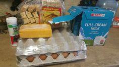 Aankope tienie 15/6/15 Dairy, Milk, Cheese, Cream, Food, Creme Caramel, Eten, Meals, Lotion