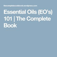 Essential Oils 101 – What, How & Benefits of EO's What Are Essential Oils, Benefit, Essentials, Health, Books, Essential Oils, Libros, Health Care, Book