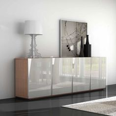 Cruise Modern Sideboard In Grey High Gloss With 3 Drawers 5 From Furniture Fashion Found It At Wayfaircouk