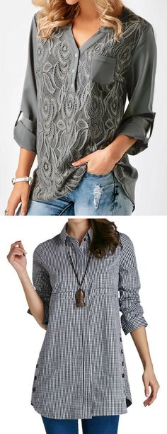 casual work shirts, casual work blouses  #liligal #blouse #shirts #top #womenswear #womensfashion