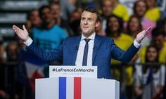 Emmanuel Macron enjoins uneasy US scientists: 'Move to France' French presidential candidate calls on those alarmed by Donald Trump's rhetoric to relocate to the 'new land of innovation'