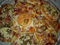 Culinária-Receitas - Mauro Rebelo: MINI PIZZA