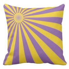 Sun Grade A Cotton Throw Pillow 20x20