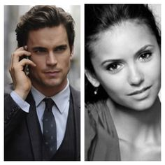 Christian Grey and Anastasia Steel (fifty shades of grey) :)) @Lisa L.... Is that the guy you we looked at last week?