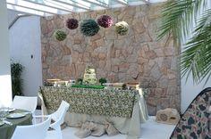 Mesa camuflada