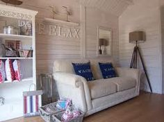 beach hut interior - Google Search