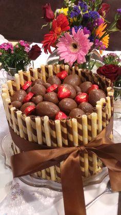 Wafer stick chocolate cake filling yummy!!!