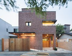 Courtyard House in Seoul by Min Soh