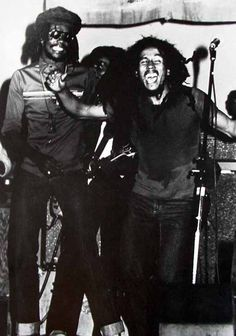 *Peter Tosh* & Bob Marley. Starlight Bowl Amphitheater, Burbank, Los Angeles, CA, USA, July 22, 1978. 'Get up, stand up' Original audio plus interview for listening and great pictures: https://www.youtube.com/watch?v=YZxFEQLxFpE. More fantastic pictures and videos of *The Wailers* on: https://de.pinterest.com/ReggaeHeart/