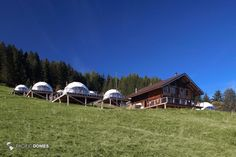 Whitepod Winter Eco-resort Domes Whitepod Winter Site - Les Giettes, Switzerland