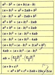 Maths Algebra Formulas, Math Vocabulary, Life Hacks For School, School Study Tips, Math Formula Chart, Math Tutorials, Maths Solutions, Physics And Mathematics, Basic Math