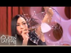 Bubble Artist Melody Yang Blows Your Mind With Her Amazing Artistry on The Queen Latifah Show - YouTube